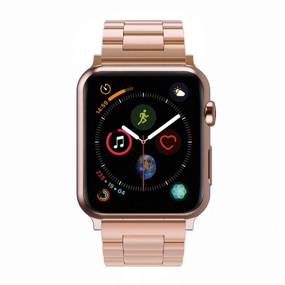 Extensible Correa Apple Watch 38/40 42/44 Mm Metal Acero