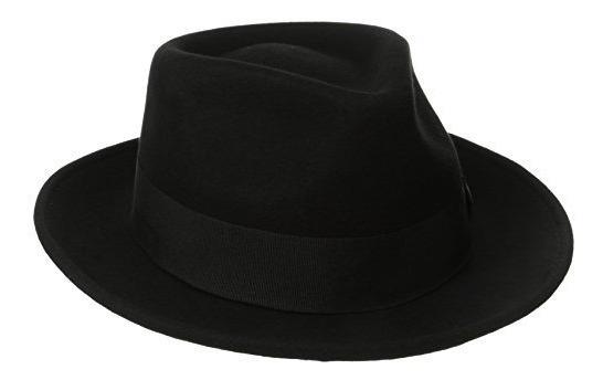 Sombrero De Fieltro De Lana Repelente De Agua Crusable De...