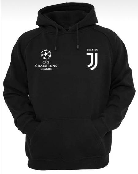 Sueteres Capucha, Con Cierre, Franelas Juventus, Champions L