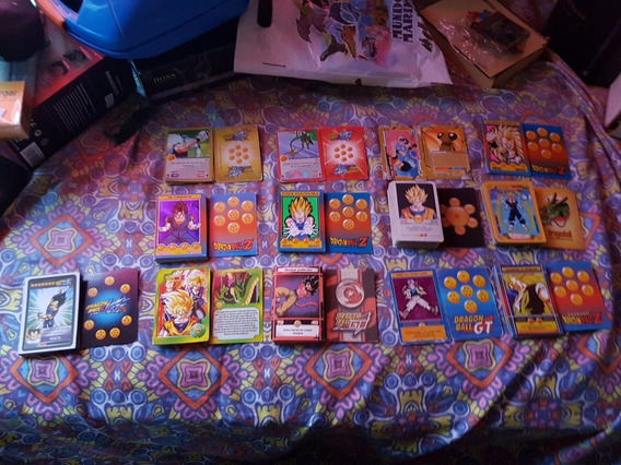 Vendo Lote De Cartas De Dragon Ball