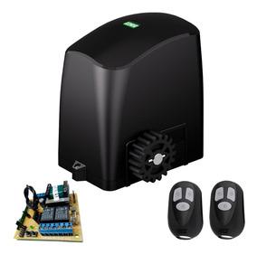 Motor Portão Eletrônico Deslizante 1/5 Hp Rcg S/ Cremalheira