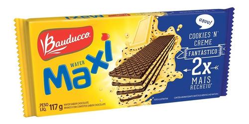Wafer Maxi Cookies 'n' Creme Bauducco 117g
