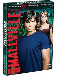 Dvd Smallville 4a Temporada 6 Discos