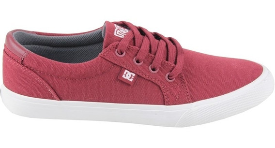 Tênis Dc Shoes Council Tx Burgundy