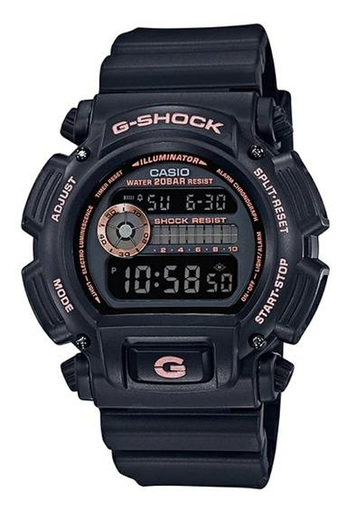 Relógio G-shock Dw-9052gbx-1a9 - Versão Ouro Rosa