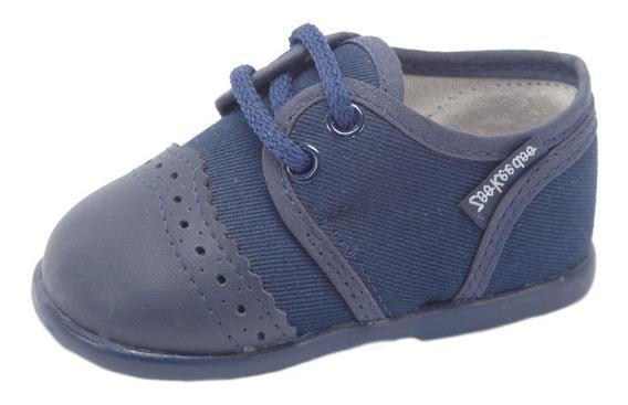 Zapato Toot Puntera Tela Cortejo Bautismo 21 Al 26 Prusiano