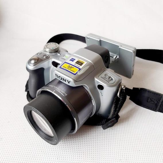 Câmera Digital Legítima Orig Sony Dsc-h50 Usad Completa Disp