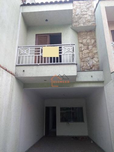 Sobrado À Venda, 120 M² Por R$ 400.000,00 - Vila Regina - São Paulo/sp - So0115