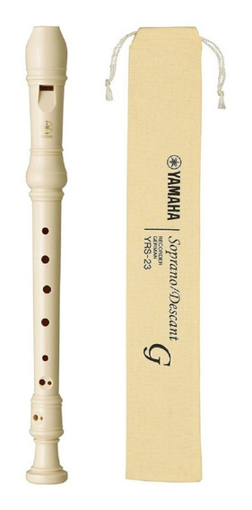 Flauta Dulce Soprano Yamaha Yrs23 Digitacion Alemana Colegio