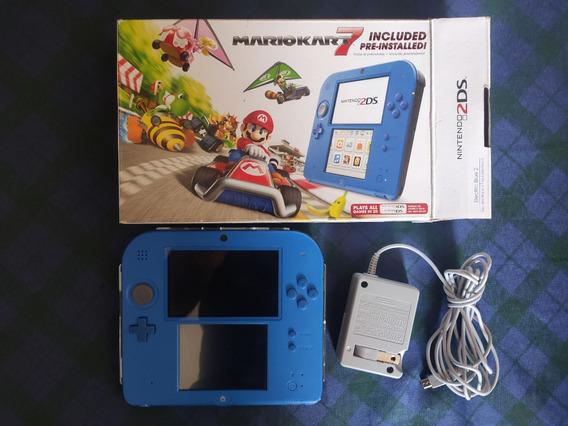 Nintendo 2ds Com Capa Acrilica Edicao Mario