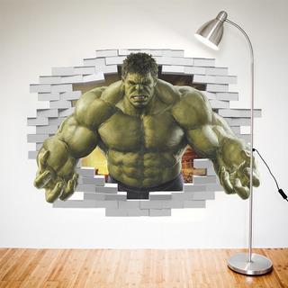 Stiker Decorativo Super Heroe Hulk