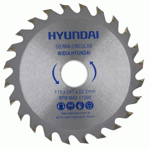 Disco Hoja Circular Para Madera 9' X 30 Dientes Hyundai G P