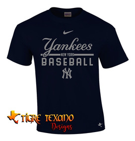 Playera Beisbol Mlb Yanquis Ny Mod K By Tigre Texano Designs