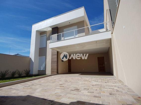 Casa Com 3 Dormitórios À Venda, 186 M² Por R$ 940.000,00 - União - Estância Velha/rs - Ca2677