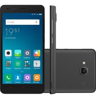 Celular Xiaomi Redmi 2 Dual 16gb 2014819 Preto - Excelente