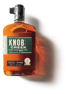 Whisky Bourbon Knob Creek Rye 100 Proof Origen Usa.