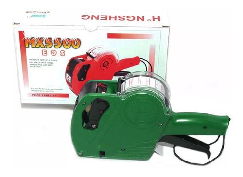 Etiquetadora Rotuladora Precios 8 Digito Simil Motex Mx 5500