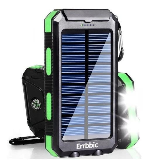 Power Bank Solar 20.000mah Cargador Portatil