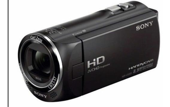 Filmadora Handycam Sony Hdr-cx220 Full Hd Tela Lcd Top
