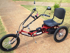 Triciclo Praiano Elétrico Wind Bikes 1000 Watts 48 V 12ah