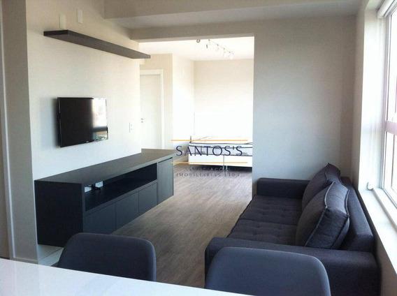 Apartamento Com 1 Dormitório À Venda, 56 M² Por R$ 680.000,06 - Brooklin - São Paulo/sp - Ap1520