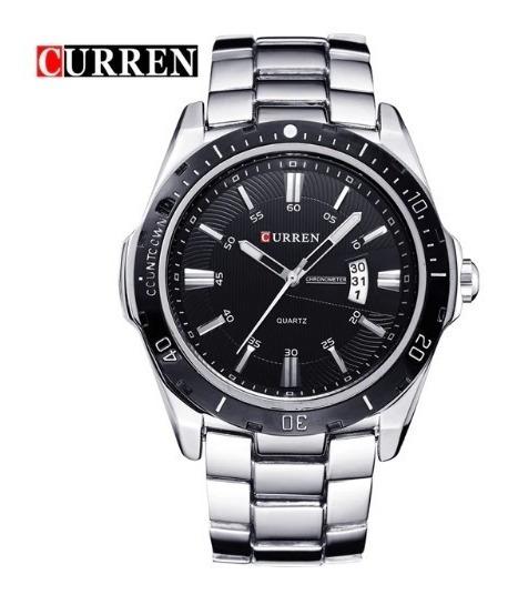 Relógio Masculino Original Curren Militar Luxo 8110 Barato