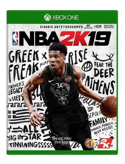 Nba 2k19 Xbox One Mídia Física Pronta Entrega