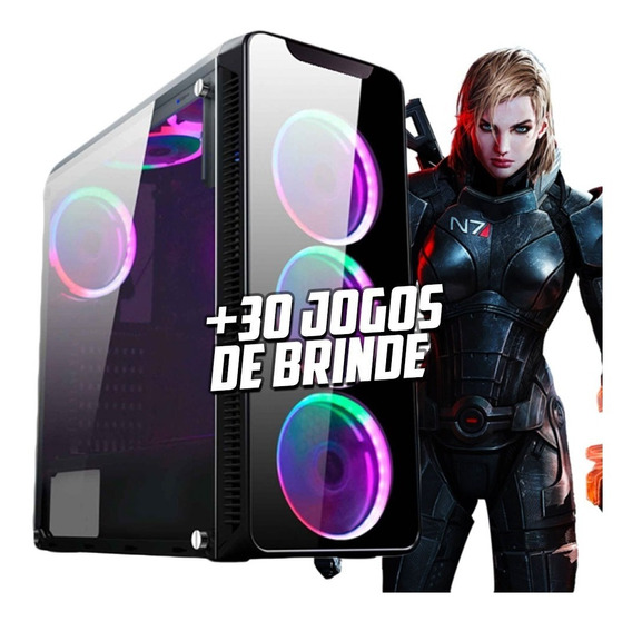 Pc Gamer I7 7700 Gtx 1060 6gb 16gb Hd 1tb 500w 80plus H110m