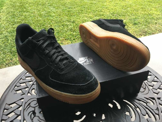 Nike Air Force 1 Black Gum. Originales 11us