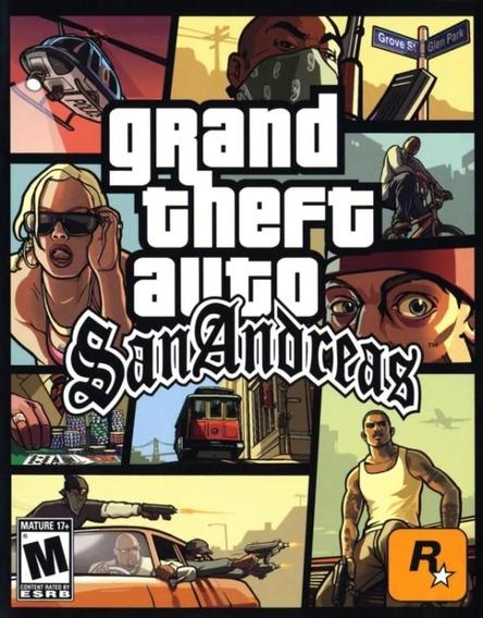 Grand Theft Auto San Andreas Pc Em Português Frete Gratis!