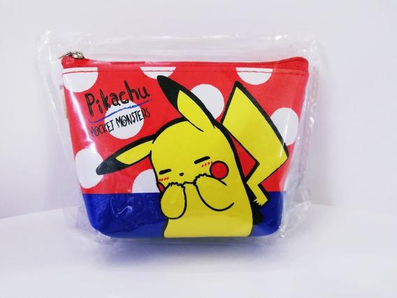 Monedero Cartera Pokemon Pikachu Bolsa Pequeña Japón
