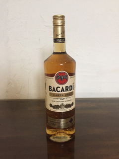 Ron Bacardi Carta De Oro Guaro Licor Licores