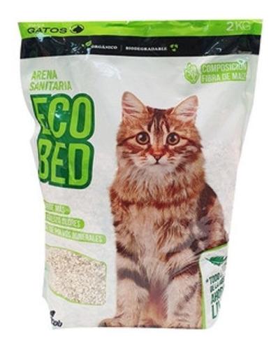 Piedritas Sanitarias Gato Ecológica Marlo Choclo Eco Bed 4kg