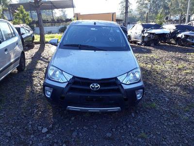 Sucata Toyota Etios Cross 2017 1.5 Automat. - Rs Auto Peças