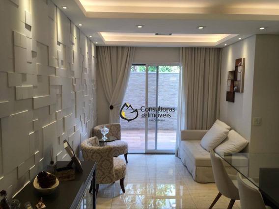 Apartamento Com 2 Dormitórios À Venda, 90 M² Por R$ 430,00 - Residencial Premiere Morumbi - Paulínia/sp - Ap0291