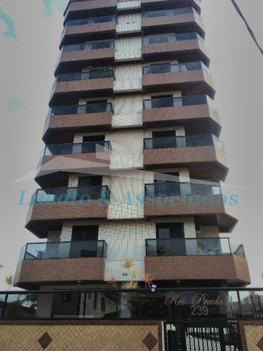 Apartamento Para Venda Guilhermina, Praia Grande Sp - Ap01166 - 4554192