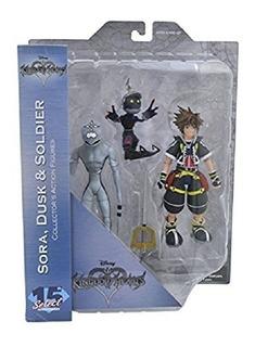 Kingdom Hearts Kingdom Hearts Sora, Dusk Y Soldier Set X3