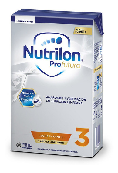 Leche de fórmula líquida Nutricia Bagó Nutrilon Profutura 3 por 6 unidades de 1L