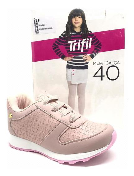 Tenis Infantil Menina Club Happy 4012