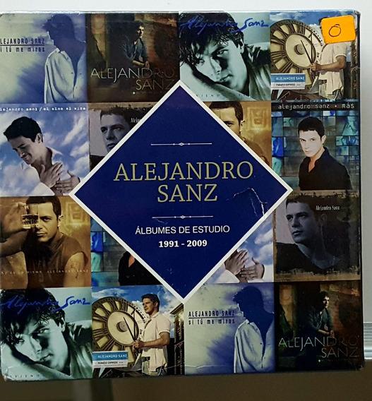 Alejandro Sanz Box Set 8 Cd Español Albums 91-09 Rsp Lnx Cdx