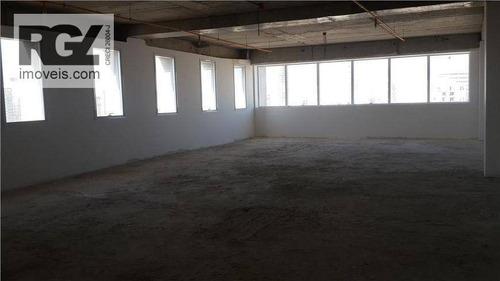 Imagem 1 de 24 de Win Work Santos Sala 162m², Andar Alto Com 3 Vagas, Gonzaga, Santos. - Sa0068