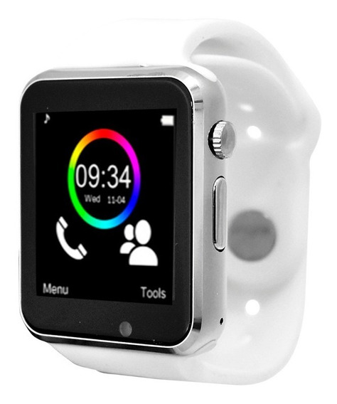 Smart Watch Celular Reloj Touch Bluetooth Necnon C-3t Pl/bl