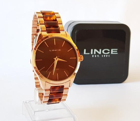 Relógio Lince Feminino Original Linha Luxo