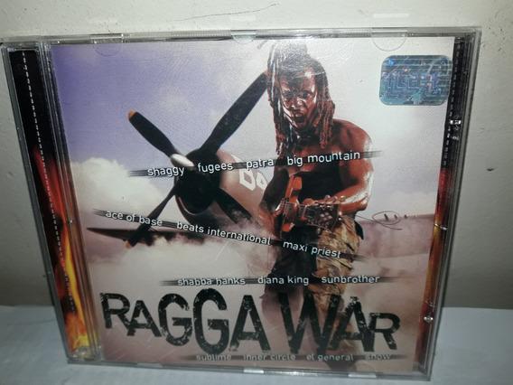 Cd Ragga War Coletânea De Reggae