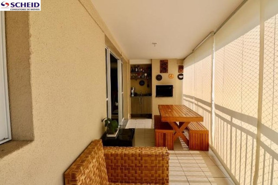 Oportunidade Apart, C/107 M² 03 Dorm(s) Sendo 1 Suite, Sacada C/ Churrasqueira, Cond. Lazer Completo - Mr67479