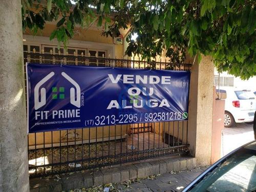 Casa Comercial À Venda, 130 M² - Vila Santa Cruz - São José Do Rio Preto/sp - Ca2360