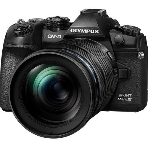Câmera Olympus Om-d E-m1 Mark Iii Mirrorless Lente 12-100mm