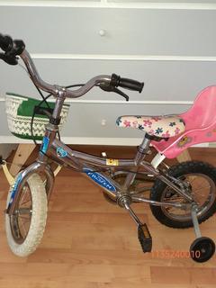 Bicicleta Rodado 12 Cromada