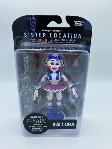 Funko Five Nights At Freddy's Ballora Articulated Action...