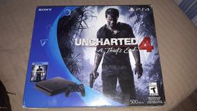 Playstation 4 (ps4) + Um Controle E Cabo + 3 Jogos